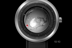 CIGA Design 玺佳 Single-Hand Mechanical Wrist Watch Series Globe